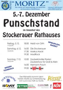 Programm Verein-Moritz Punschstand 2014